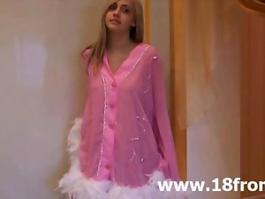 Pinky graceful legal teen stripping