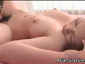 Sexual asian slutty chicks having lewd and mad sex