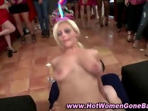 Cfnm nymphos stripper fuck party feature