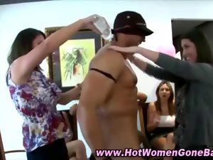 Cfnm amateur vixens partying rough video