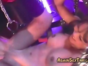 Some of bondage for asian young woman