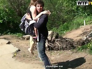 Horny hitch hike with sassy teen young lady movie 2