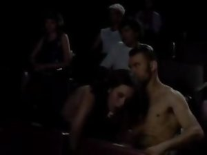 Public sex in crowded cinema movie 2