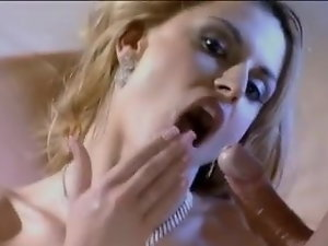Spunk In Her Mouth