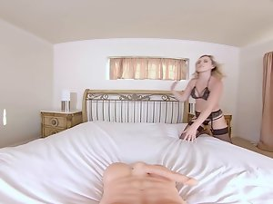BaBeVR Light-haired Chick Sasha Heart Introduces You With Asshole Hookup