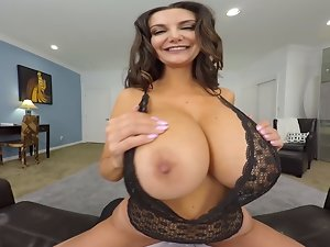 Insane AMERICA VR banging Ava Addams in the bedroom