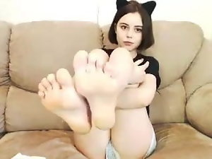 gorgeous female feet